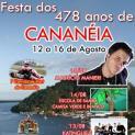 Confira a programação da  478ª Festa de aniversário de Cananéia