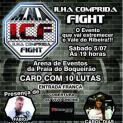 Confrontos de MMA na Ilha no sábado 5/07 contarão  com lutador                          Fábio Maldonado, Ringue Girls e a Panicat Carol Dias