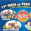 Programação das comemorações do 17º aniversário de Cajati: