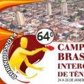 Atletas participam do 64º Campeonato Brasileiro Intercolonial de Tênis de Mesa