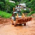 Mais estradas estão sendo arrumadas pela Prefeitura de Eldorado
