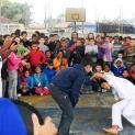 Projeto promove inclusão social através da capoeira