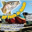 20ª edição da Festa do Robalo começa no próximo dia 14