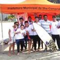 ATLETAS DA ILHA PELA PRIMEIRA VEZ NO CIRCUITO COLEGIAL DE SURF TV TRIBUNA