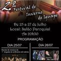 2º Festival de Inverno de Iguape