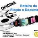 """Oficina """"Roteiro de Ficção e Documentário"""" será realizada dia 24/03"""