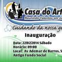 JACUPIRANGA GANHA CASA DO ARTESÃO