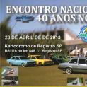 Encontro Nacional Chevetteiros no Kartodromo de Registro